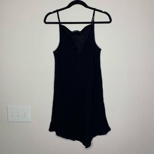 Elizabeth and James black sleeveless dress